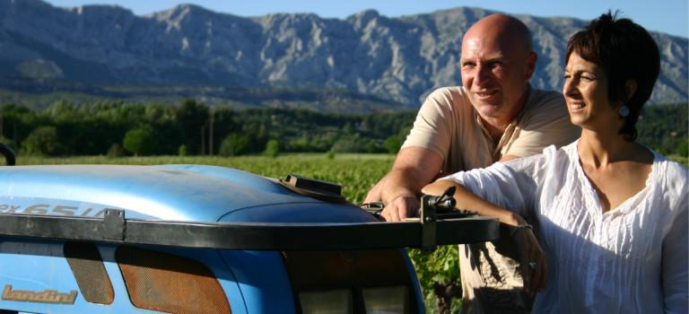 Nadia et Serge Davico vous accueillent chaleureusement au domaine viticole Terre de Mistral