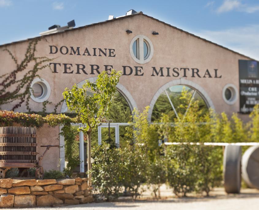 Domaine Terre de Mistral en Provence